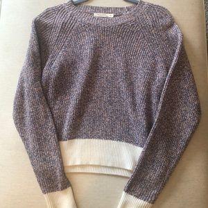 Rag + Bone Multi Colored Cropped Sweater